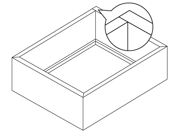 BHK DuraWrap Drawers Assembly Type 2