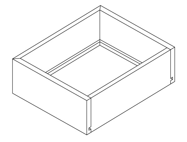 BHK DuraWrap Drawers Assembly Type 4