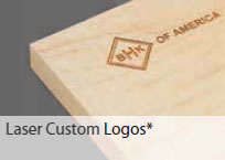 Drawer Laser Custom Logos